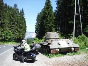 Crossing into the Slovania