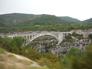 Bridge over the Verdon River