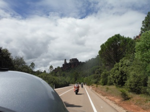 Riding to Cuenca