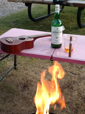 Laphroaig, a favorite Scotch