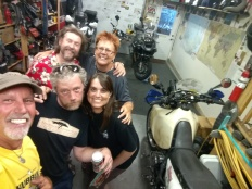 Nevil, Melanie, Jeremy, Michelle, and I