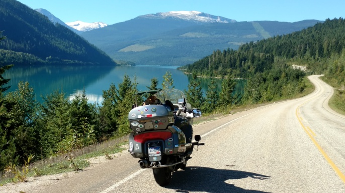 Along Lake Revelstoke