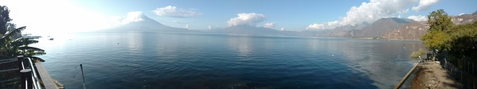 View of Laga Atitlan