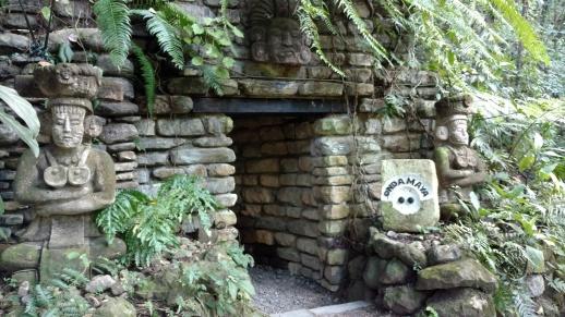 Entrance to Jaguar Spa