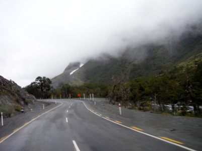 Exiting the Homer Tunnel
