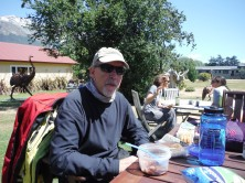 Lunch at Glenorchy Cafe