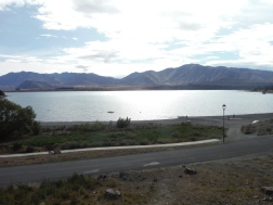Lake Tekapo from the campsite