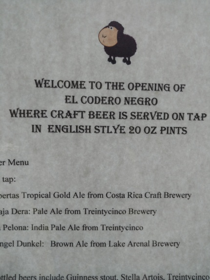 the El Codero Negro, or the Clandestine Pub
