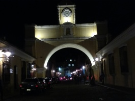 Santa Catalina Arch, Calle Del Arco. Dating from the 1600's