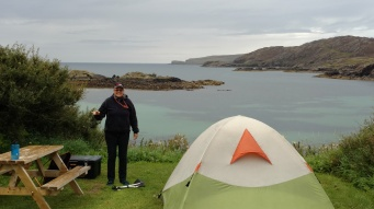 Great Campsite near Scourie
