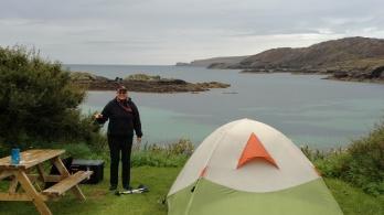Great Campsite near Scourie